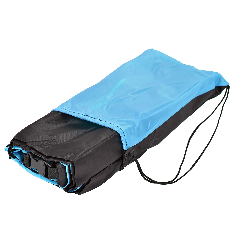 Loungebag mit integriertem Kissen inkl Festival Camping Sitzsack als Outdoor-Sofa im Park aufblasbares wasserdichtes Luftsofa Tragebeutel Ocean 5 Air Lounger