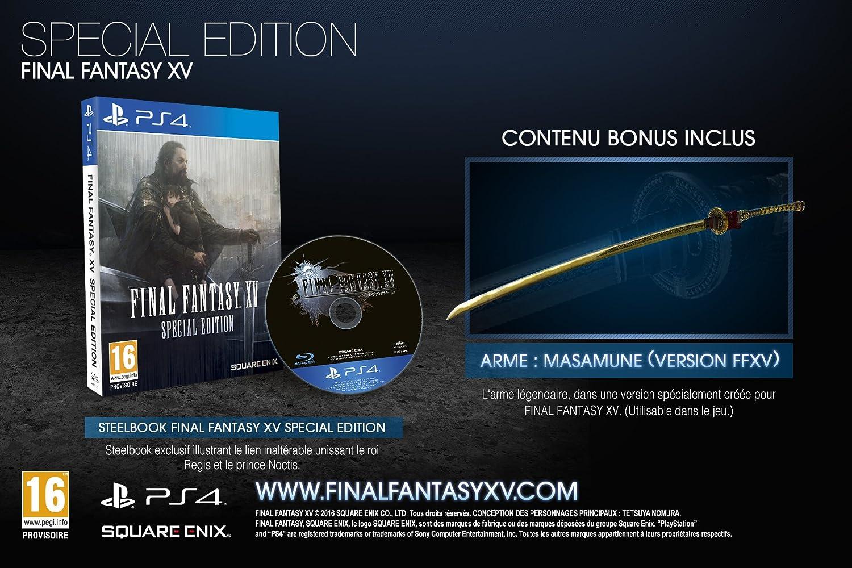 Final Fantasy XV + Steelbook - Édition Spéciale [Importación ...