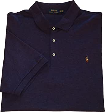 Ralph Lauren Polo Mens Big and Tall Soft Touch Cotton Polo Shirt