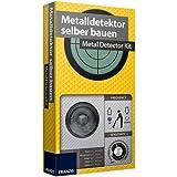 Metalldetektor zum selber Bauen für Kinder ab 14 Jahren kompletter Bausatz mit Platine • Metallsuchgerät Modellbausatz Baukasten Set Kasten Box