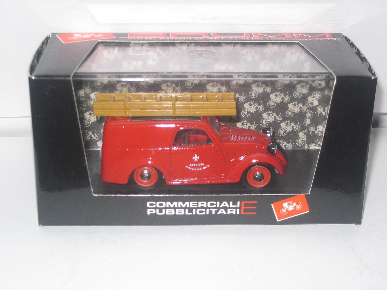 Brumm 1/43 Scale Metal Model - R246 FIAT 500B FURGONCINO 1946-49 B01C6O8ZJK