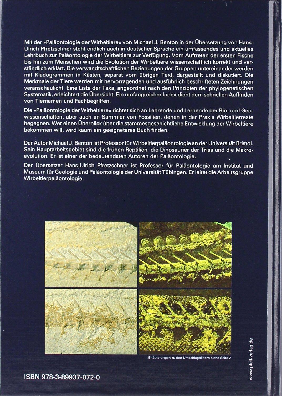 Paläontologie der Wirbeltiere: Amazon.de: Michael J Benton, Hans U ...
