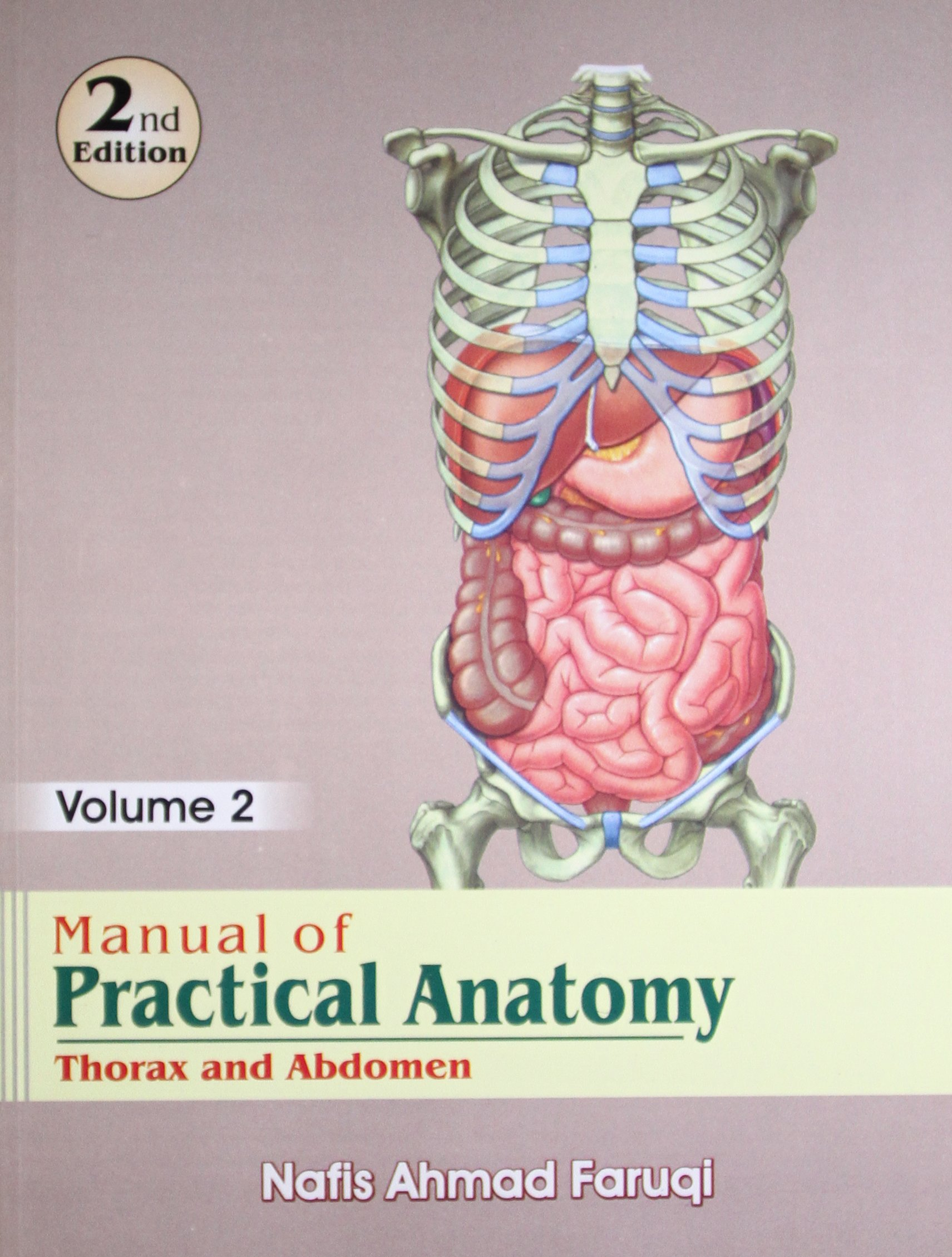 Manual Of Practical Anatomy Vol 2 Thorax And Abdomen N A