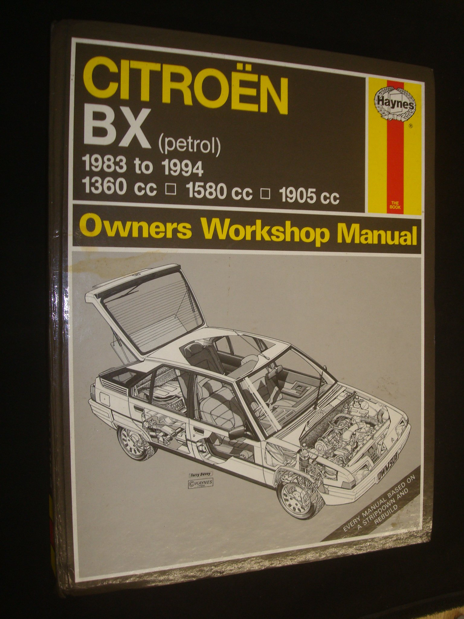 citroen bx owner s workshop manual haynes owners workshop manuals rh amazon com Haynes Repair Manuals Online Haynes Repair Manual 1987 Dodge Ram 100