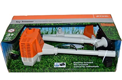 Stihl Battery Operated Brushcutter Strimmer Children Kids Realistic Toy