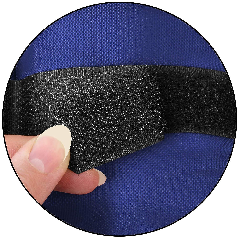 BB Sport Gewichtsmanschetten Laufgewichte für Fuß und Handgelenke 2 x 0,5-4 kg
