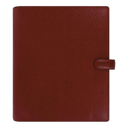 Filofax 2019 A5 Finsbury Organizer, Cherry, Paper Size 8.25 x 5.75 inches (C022498-19)