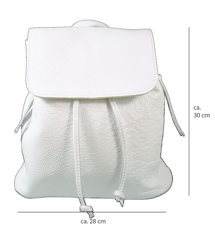 6749fee947055 Echtleder Damen Rucksack Leichter Tagesrucksack Daypack Lederrucksack  Damenrucksack Versch. Farben erhältlich(Beige größeres Bild
