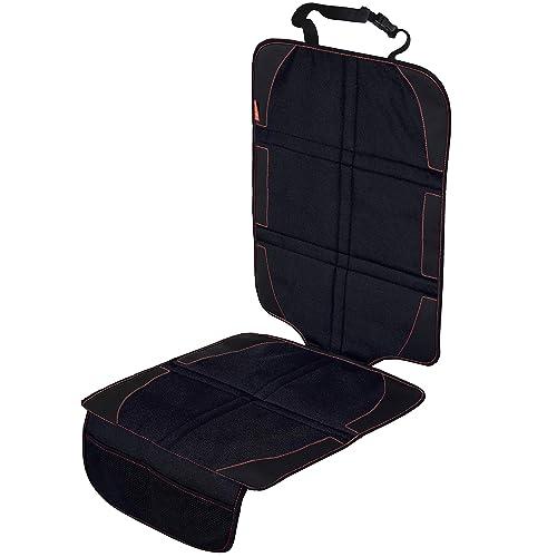 Autositzauflage als Kindersitz Schutzbezug   Isofix geeignet   Wasserabweisende Auto Kindersitzunterlage   Robust mit Universeller Passform