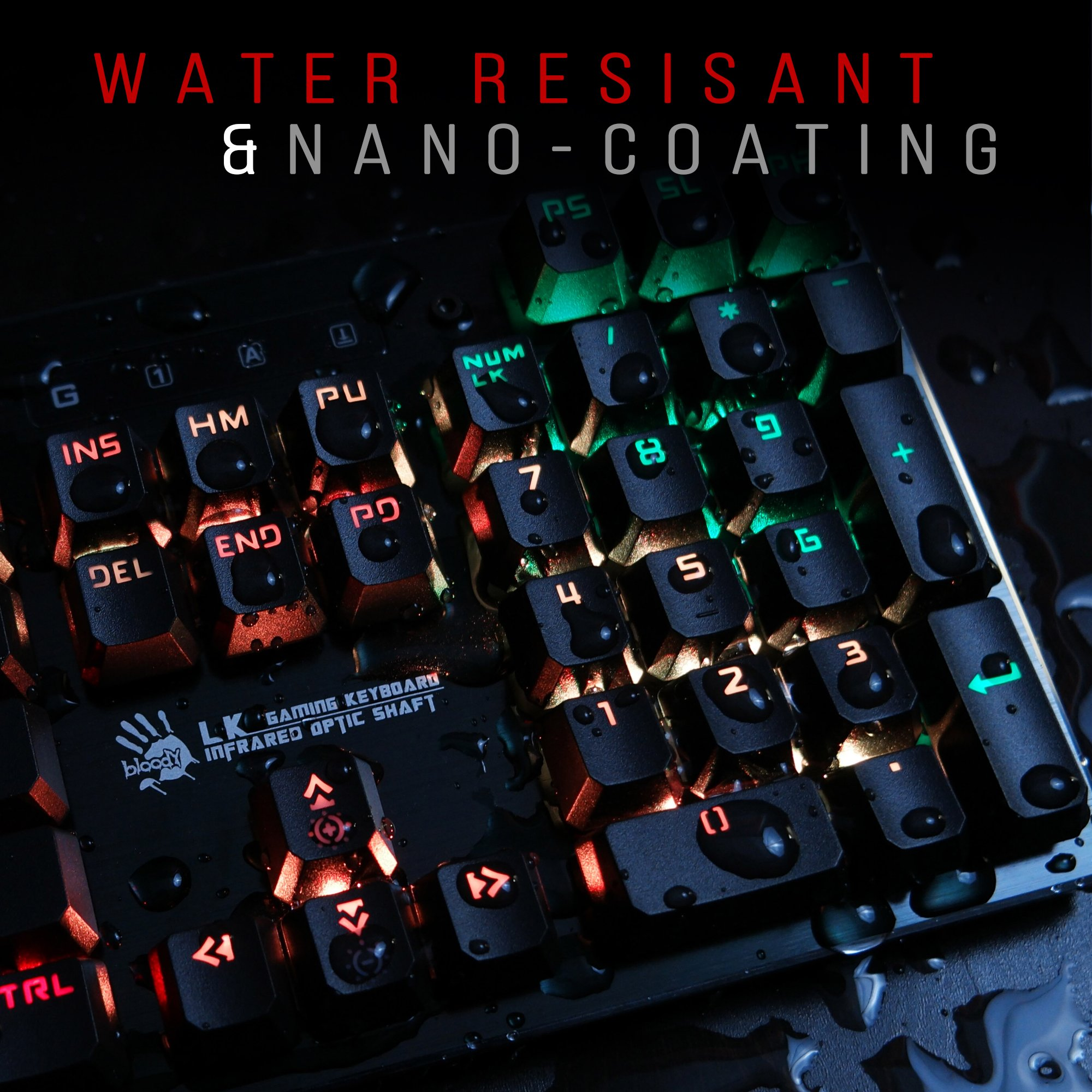 990e4edd397 Bloody B820 Light Strike Mechanical Gaming Keyboard. $99.90. LIGHTNING  FAST: Optic switch technology gives you a true competitive edge with optical  ...