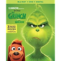 Illumination Presents: Dr. Seuss' The Grinch  [Blu-ray + DVD + Digital] (Bilingual)