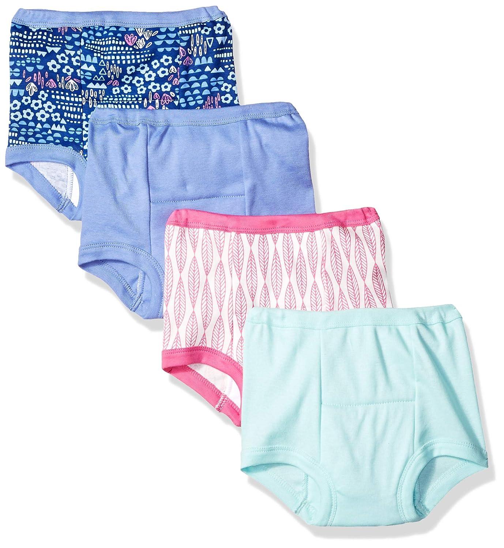 Lamaze Girls' Organic 4 Pack Training Pants