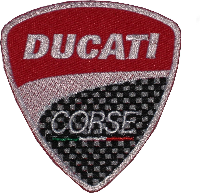 RoxxTox Parche para Coser o Planchar 9,5 cm 8 cm dise/ño de Logotipo de Ducati