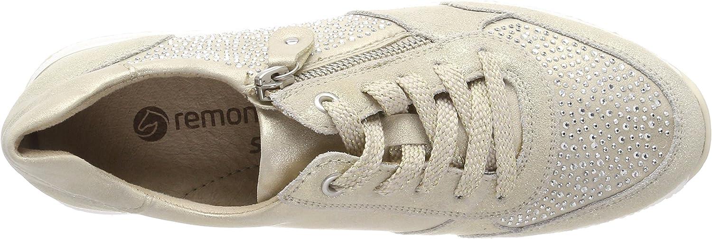 Remonte Damen R7008 Sneaker Gold Nude Muschel