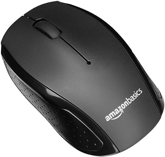 AmazonBasics - Pack de teclado y ratón inalámbricos, silenciosos y compactos, tipo QWERTY: Amazon.es: Informática