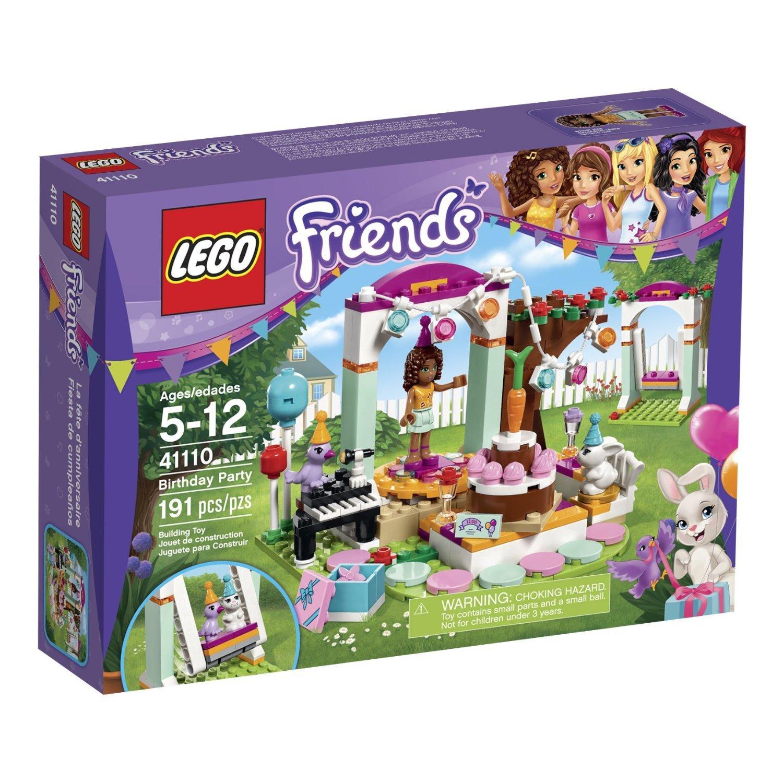 Amazon.com: Friends LEGO 191 PCS Birthday Party Brick Box ...