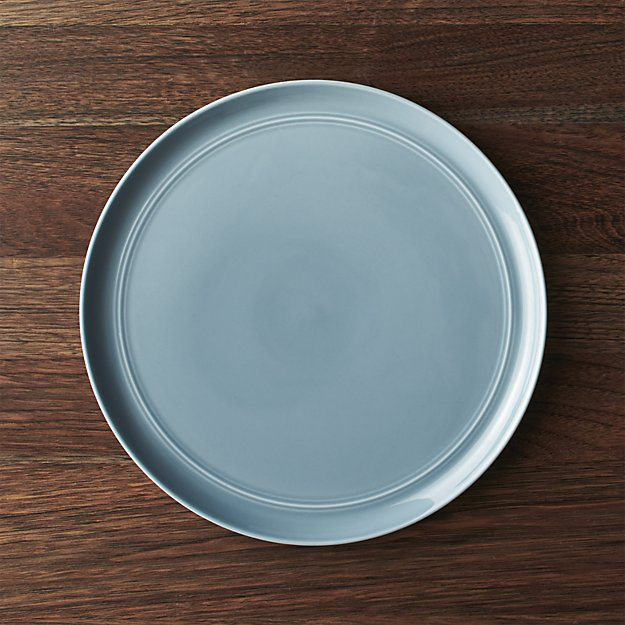 Hue Blue Dinner Plate | Crate and Barrel