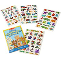 Melissa & Doug 2947 My First Temporary Tattoos: Adventure, Creatures, Sports, and More - 100+ Kid-Friendly Tattoos