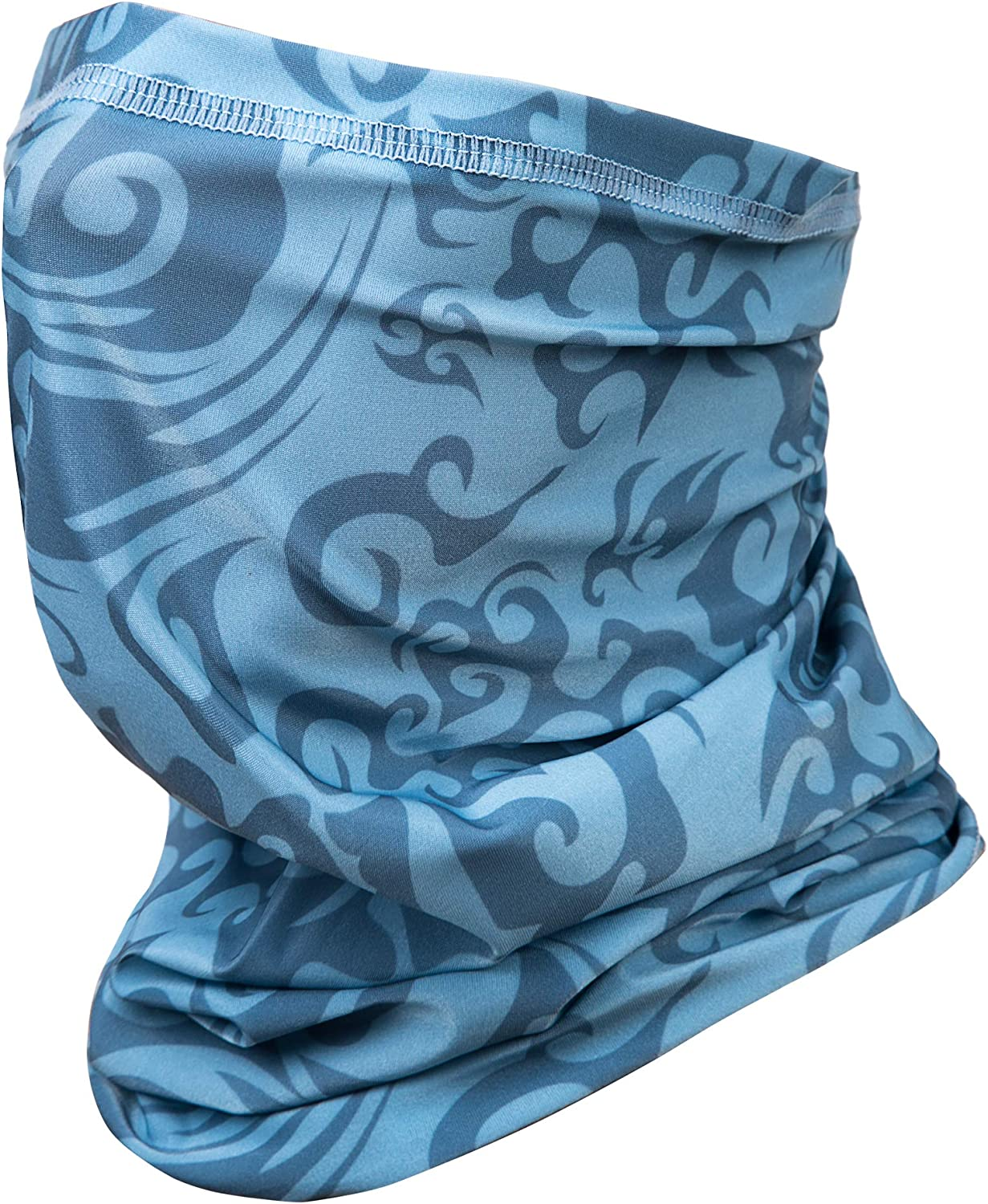 Neck Gaiter Face Scarf Mask-Dust Bandanas UV Protection for Motorcycle Cycling Riding Running Headbands