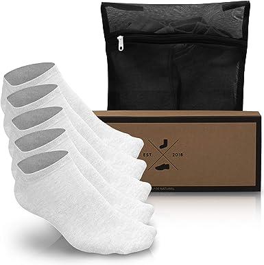 Noviet Damen & Herren Sneaker Socken Lochfrei (6x Paar) Kein Geruch, Kein Drücken