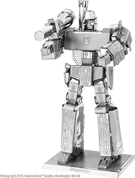 Transformers Megatron Metal Earth