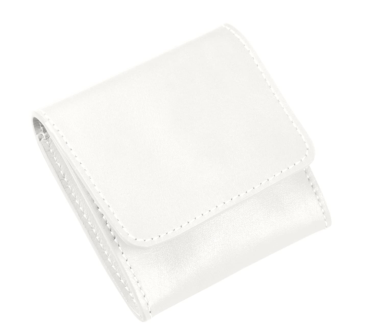 Lucrin Lucrin Lucrin PM1013_VCLS_BLN - Monedero, fabricado en piel lisa, color blanco 4c4c6a