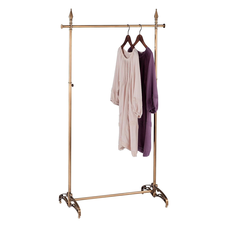 Perchero para ropa, color dorado envejecido, 120 cm de ancho ...