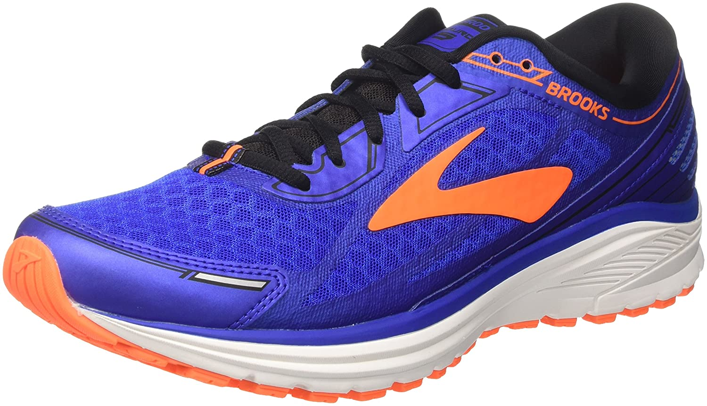 Brooks Aduro 5, Zapatillas de Running para Hombre 46 EU Azul (Blue/Orange/Black 1d494)