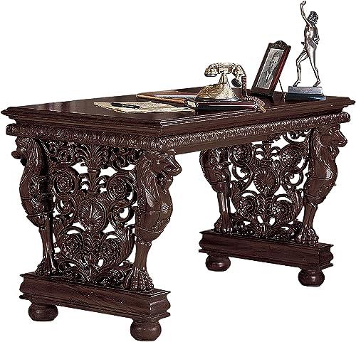 Reviewed: Design Toscano Effingham Gryphon Library Desk Dining Table