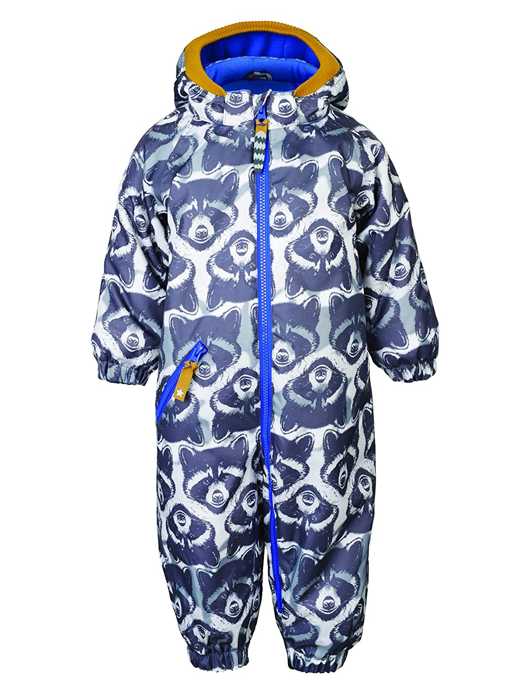 Racoon Baby-Jungen Schneeanzug Mehrfarbig (Ebony EBO) 74 Pure Kids R0429-0555 B01CL56YU6Mehrfarbig (Ebony EBO)74