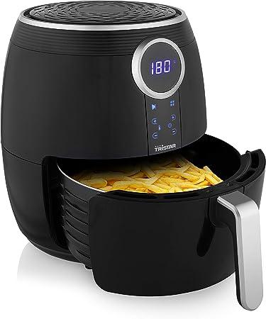 Tristar Digital Crispy Fryer FR-6956 - Freidora sin Aceite, Panel de Control Digital, Uso Sencillo y Seguro, 1500 W, 4.5 L de capacidad, Negro: Amazon.es: Hogar