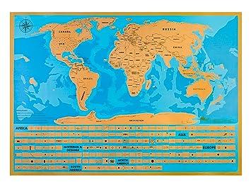 Premium world map poster individual states of the us to scratch off premium world map poster individual states of the us to scratch off deluxe world gumiabroncs Choice Image