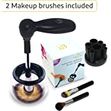 Limpiador Brochas Maquillaje   Kit de Limpieza en Seco Para Cepillos Profesional   2 Brochas Incluidas   Limpia Todas los Pinceles en Segundos   Makeup Brush Cleaner   de Millenial Beauty