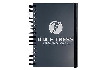 amazon dta fitness journal training log food diary goal design