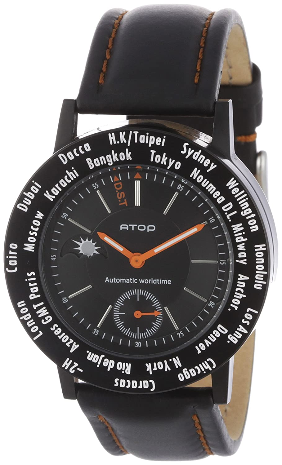 Atop Unisex-Armbanduhr B-CLIC NIGHT Analog Quarz WWB-1