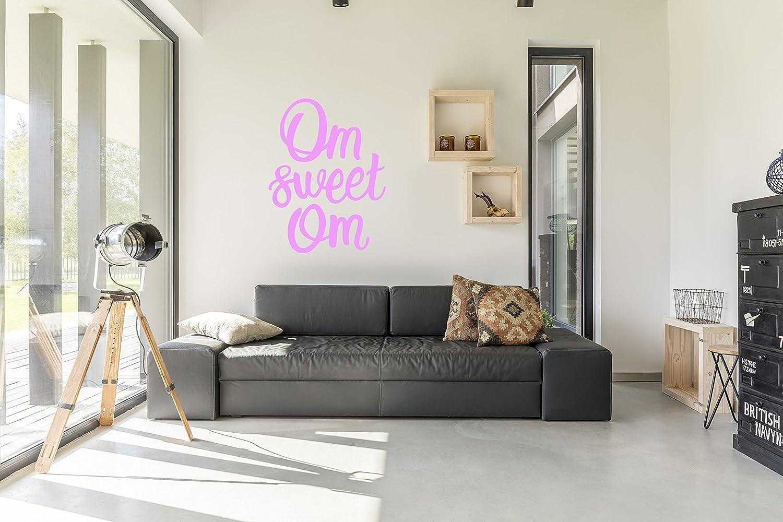 Amazon Com Om Sweet Om Wall Decal Wall Sticker Yoga Home Decor
