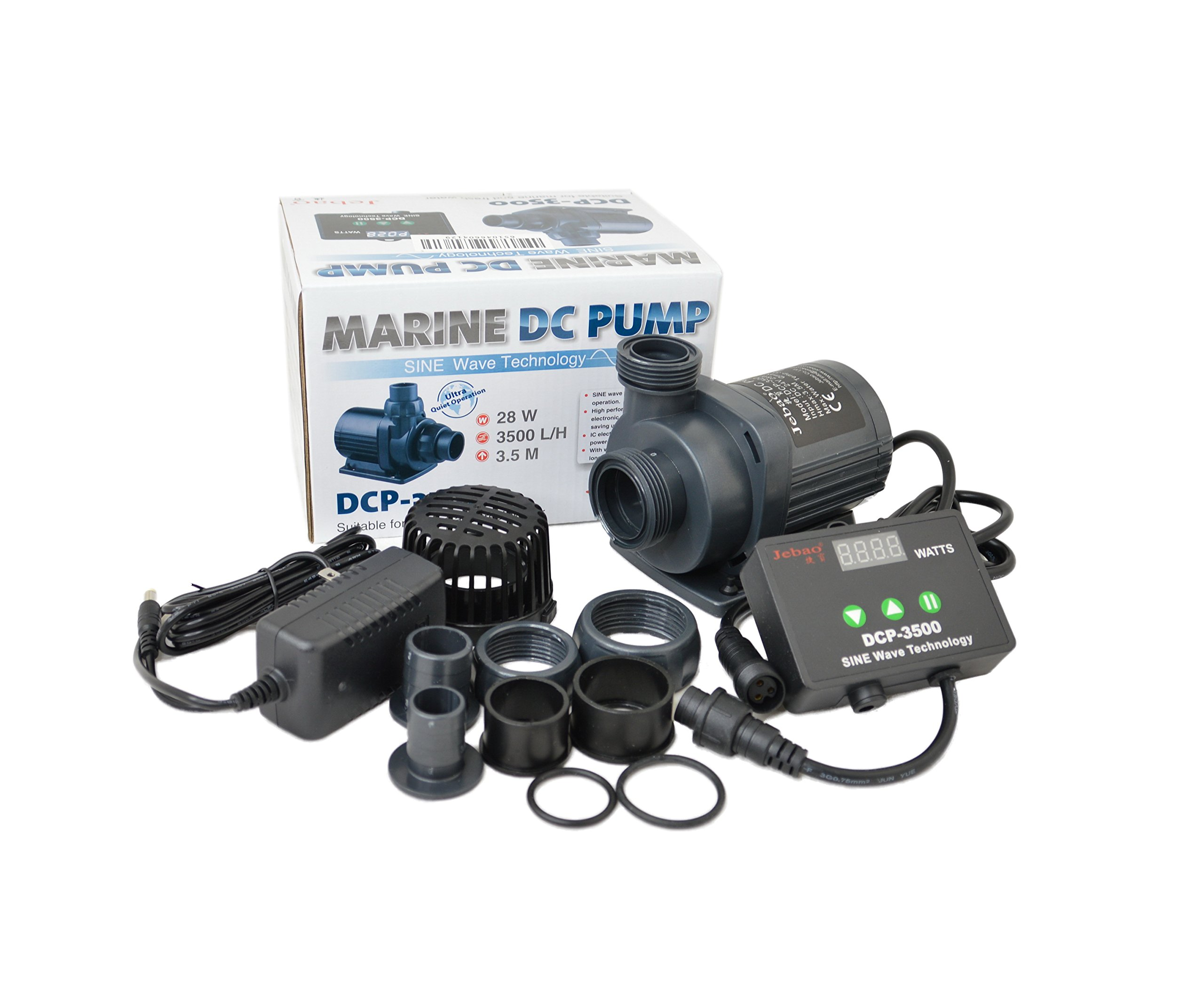 Jebao DCP Sine Wave Water Return Pump (DCP-3500) by Jebao