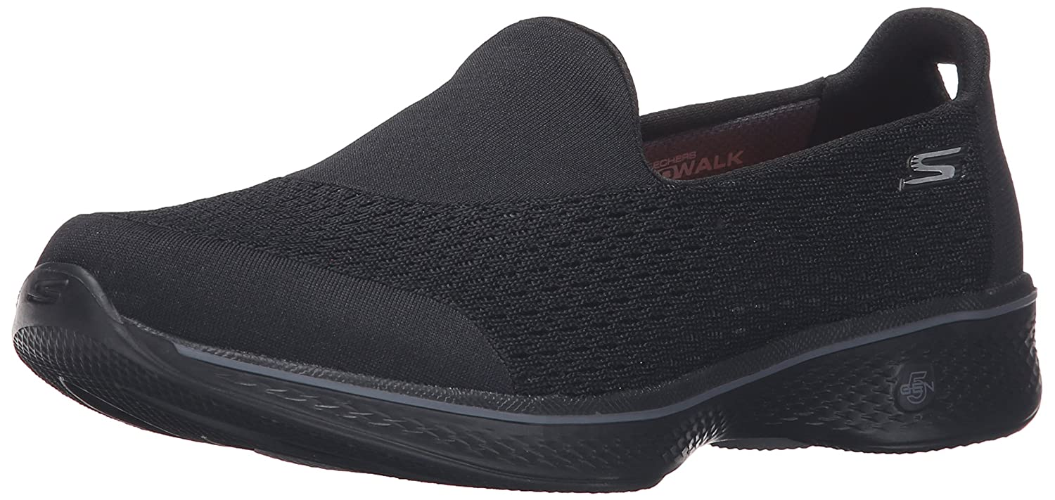 Skechers Performance Women's Go Walk 4 Pursuit Walking Shoe B01AH0F4I0 10 B(M) US|Black