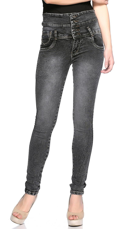 Fasnoya Women Slim Fit Jeans Dark Grey  Amazon.in  Clothing   Accessories a1051fd48