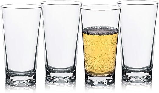 Tritan vasos de plástico irrompibles, vasos de agua, vasos de ...