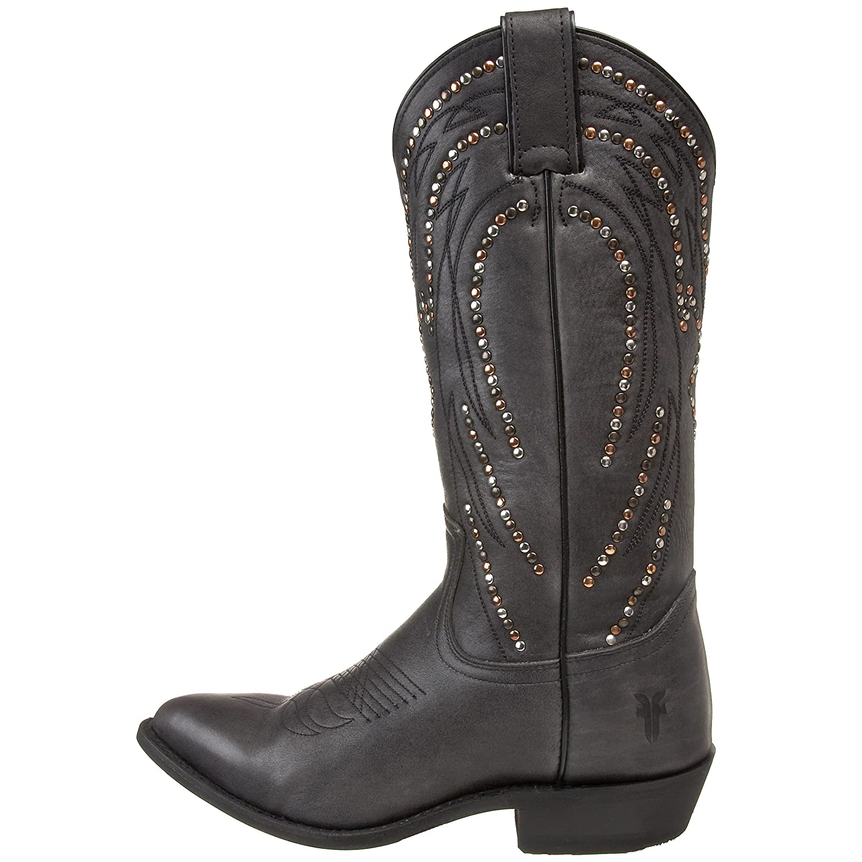 33e85a587dd FRYE Women s Billy Stud Pull-On Boot - Black - 8.5  Amazon.co.uk  Shoes    Bags
