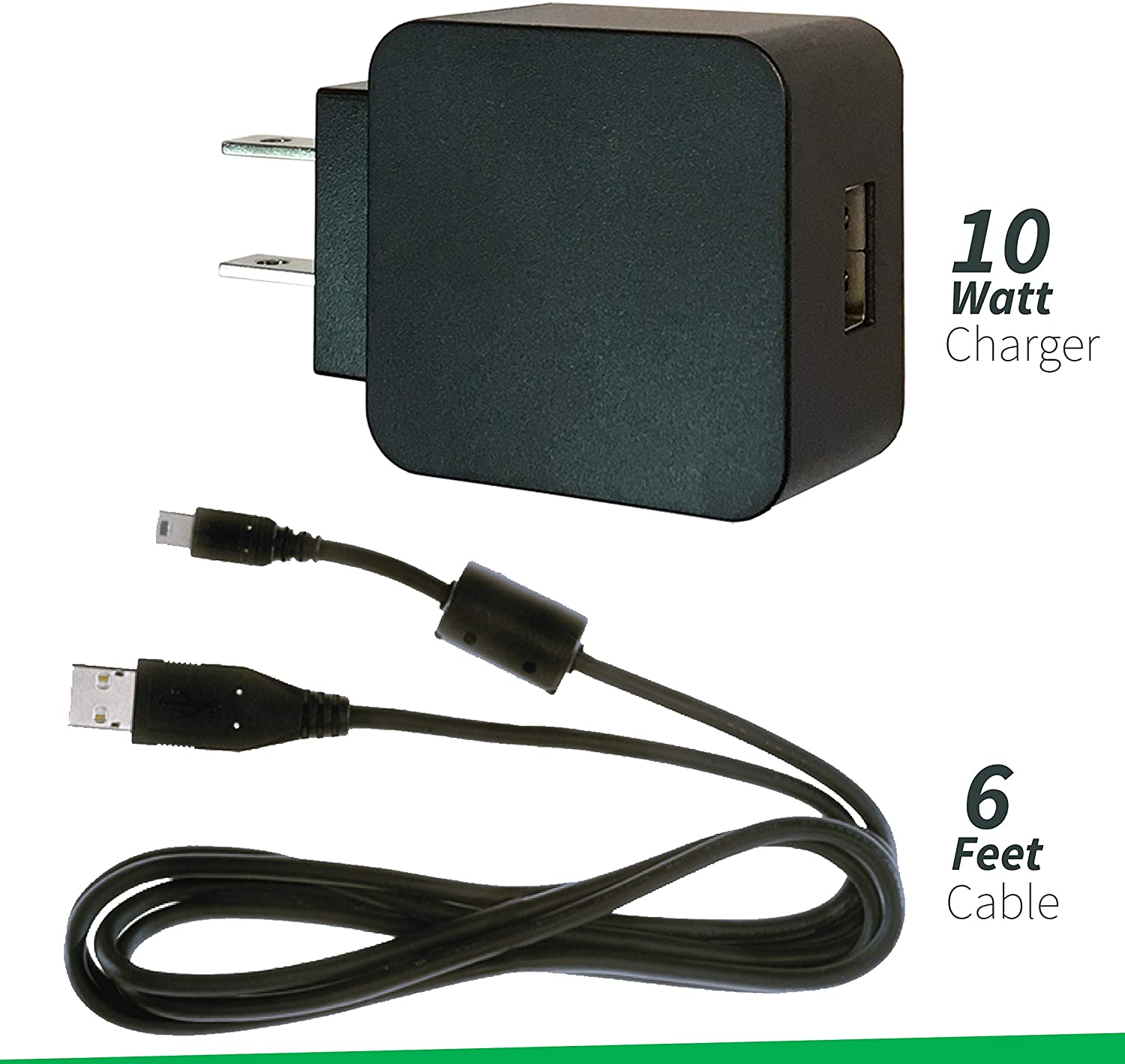 UC-E6 Usb Cable For Nikon Compatible Cameras EH-69P Compatible AC Adapter EH-68P