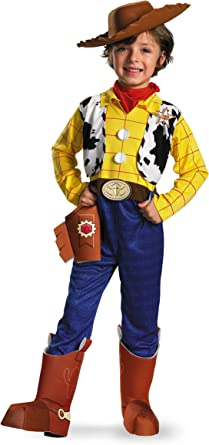 Disney Toy Story - Woody Deluxe Toddler / Child Costume Toy Story ...