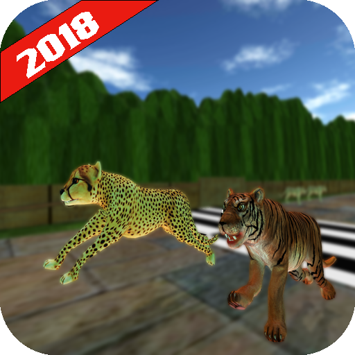 Wild Animals Racing: Racing Battle (Battle Racing)