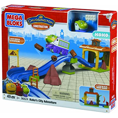 Mega Bloks Chuggington Koko's City Adventure: Toys & Games