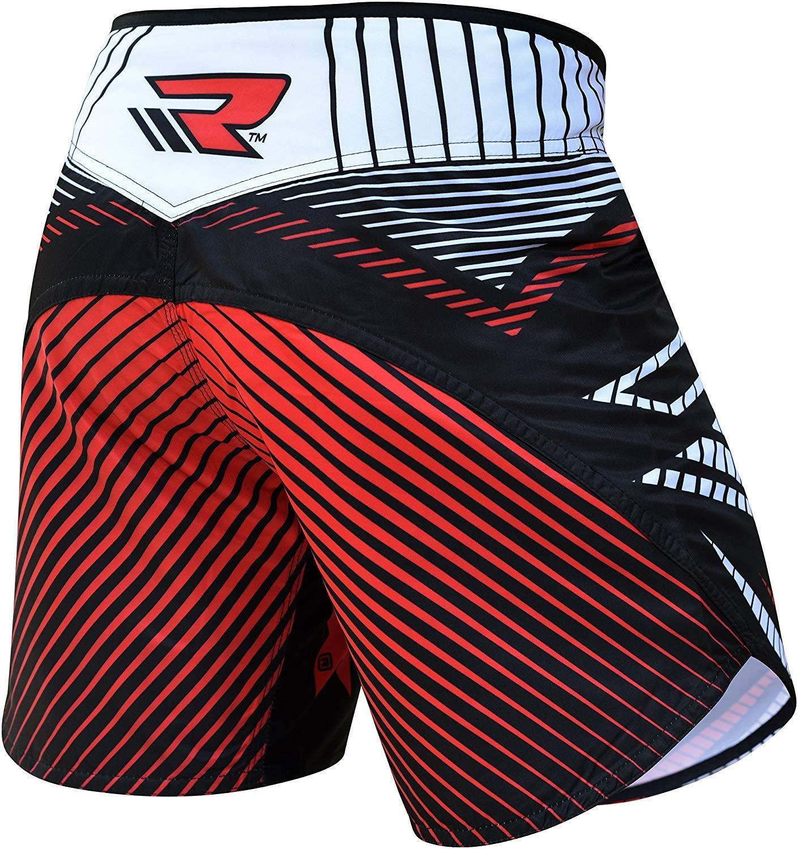 RDX MMA Pantaloncini Boxe Pugilato Sport Palestra Shorts Muay Thai Kick Boxing Sportivi