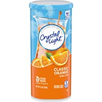 Crystal Light Classic Orange Drink Mix (20 Pitcher Packets, 4 Packs of 5)