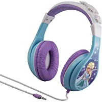 eKids Kid Friendly Youth Headphones with Built in Volume Limiting Feature Girl Frozen