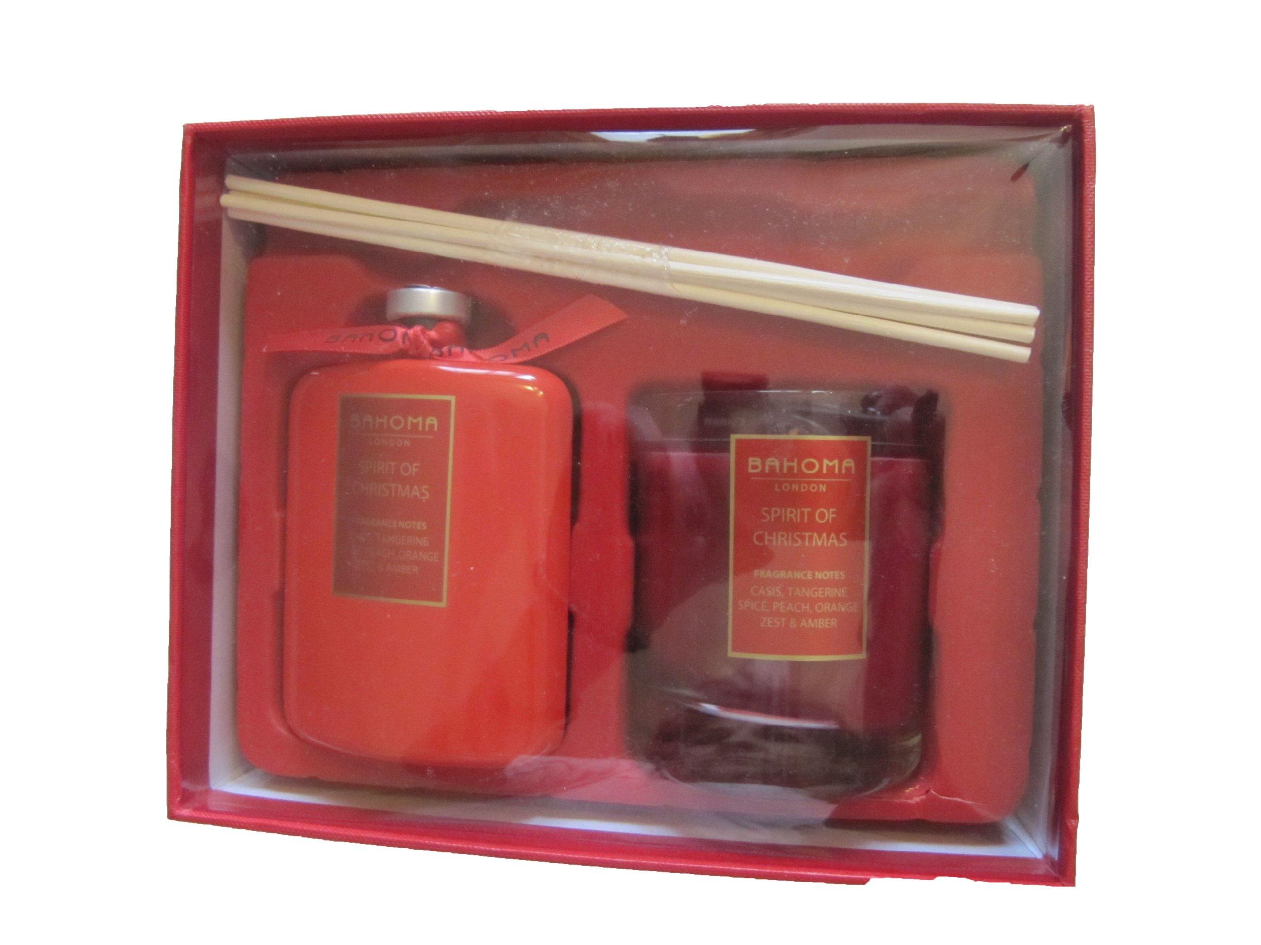 Bahoma London Candle & Diffuser Set Spirit of Christmas