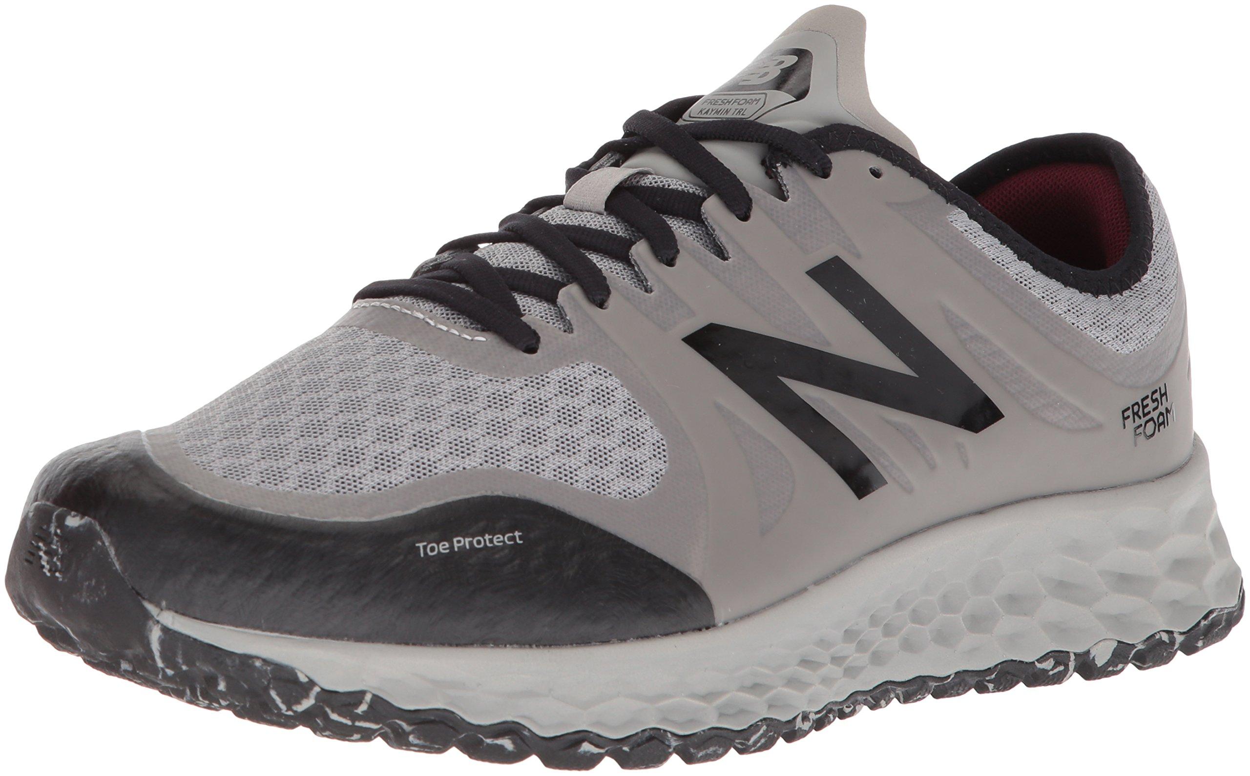 New Balance Men's Kaymin Trail v1 Fresh Foam Trail Running Shoe, Grey, 7 D US by New Balance (Image #1)